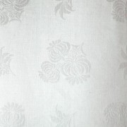Скатерть 150х250см белая лен