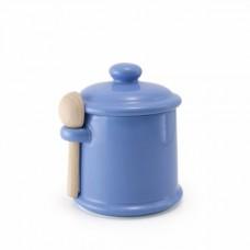 Банка c ложкой для хранения цвет - Черника
