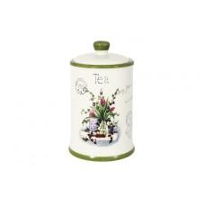 Банка для сыпучих продуктов (чай) Букет