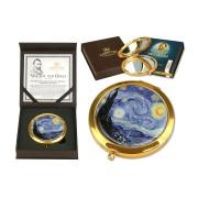 Зеркало карманное Звездная ночь (Ван Гог)