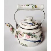 """Японский эмалированный чайник на 2 литра,серия """"Японский стиль"""""""