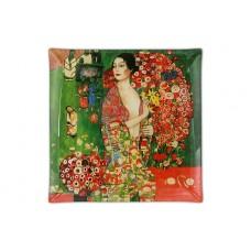 Тарелка квадратная Танцовщица (Г. Климт)