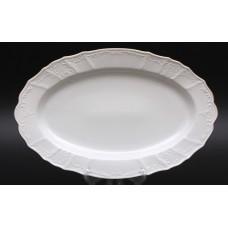 """Блюдо овальное 36 см """"Бернадот белый 311011"""""""