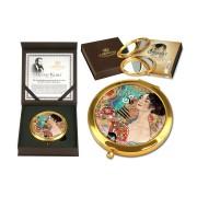 Зеркало карманное Дама с веером ( Г. Климт)