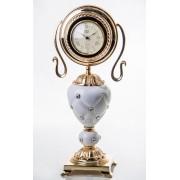 Часы латунь, фарфор