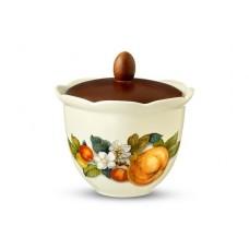 Банка для сыпучих продуктов Итальянские фрукты 15см, 0,8л