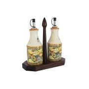 Набор из 2-х бутылок для масла и уксуса на подставке Старая Тоскана
