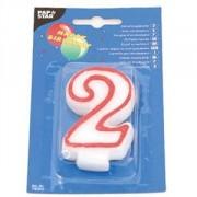 Свеча-цифра 2,ко дню рождения