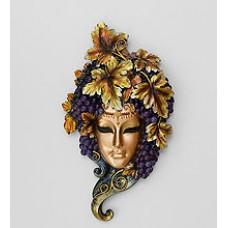 Венецианская маска ''Виноград'' 30 см