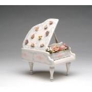 Статуэтка 19,7 см музыкальная Цветочный рояль