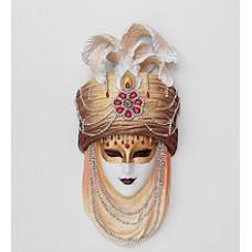Венецианская маска ''Восточная красавица'' 31 см