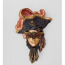 Венецианская маска ''Пират'' 33 см