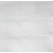 Скатерть жакк. 90*90см х/б белая