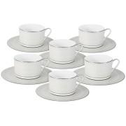 <!--namescript--> Чайный набор Бирюза: 6 чашек + 6 блюдец...  <!--namescript-->
