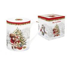 Кружка (белая) Рождественская елка 0,3 л