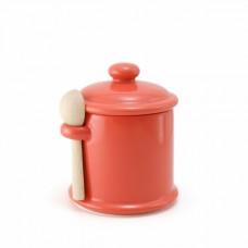 Банка c ложкой для хранения цвет - Морковь