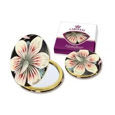 Зеркало карманное Экзотический цветок