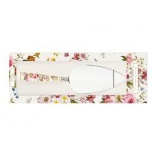 Лопатка для торта Цветочный карнавал (белый)
