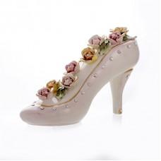 Декоративная туфелька 27x10x15 см.