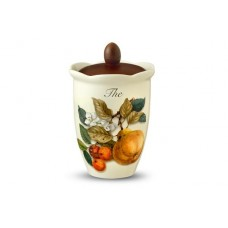 Банка для сыпучих продуктов (чай) Итальянские фрукты