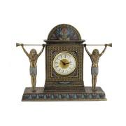 Часы каминные Египет