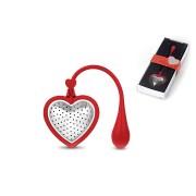 Ситечко для заваривания чая TEA HEART RED, красный