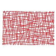 Подстановочные салфетки SILK Koziol, красный