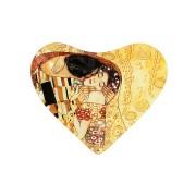 <!--namescript--> Тарелка в форме сердца Изумруд (А. Муха)...  <!--namescript-->