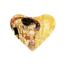 Тарелка в форме сердца Поцелуй (Г.Климт)