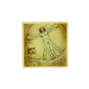 <!--namescript--> Тарелка квадратная Витрувианский человек...  <!--namescript-->