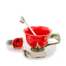 """Чайная пара """"Красная Роза"""""""