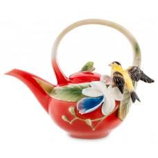 """Заварочный чайник """"Иволга и орхидея"""" (Pavone) 850 мл"""