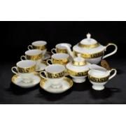 Сервиз для чая на 6 персон Greca Oro