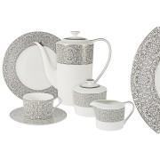 Чайные сервизы из фарфора на 6 и 12 персон