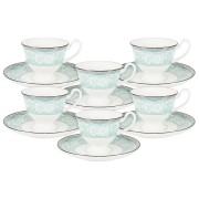 Кофейный набор Прикосновение: 6 чашек   6 блюдец