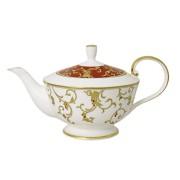 Чайник (белый) с крыш.(красн) Анатолия 0,94 мл