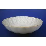 Н 1050011 Джулия ГРИН салатник 23,5см (зол.лента)