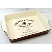 "Блюдо для выпечки ""Кухня в стиле кантри"" 27х20 см"