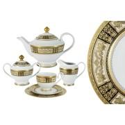 <!--namescript--> Чайный сервиз Вуаль кремовая 42 предмета...  <!--namescript-->